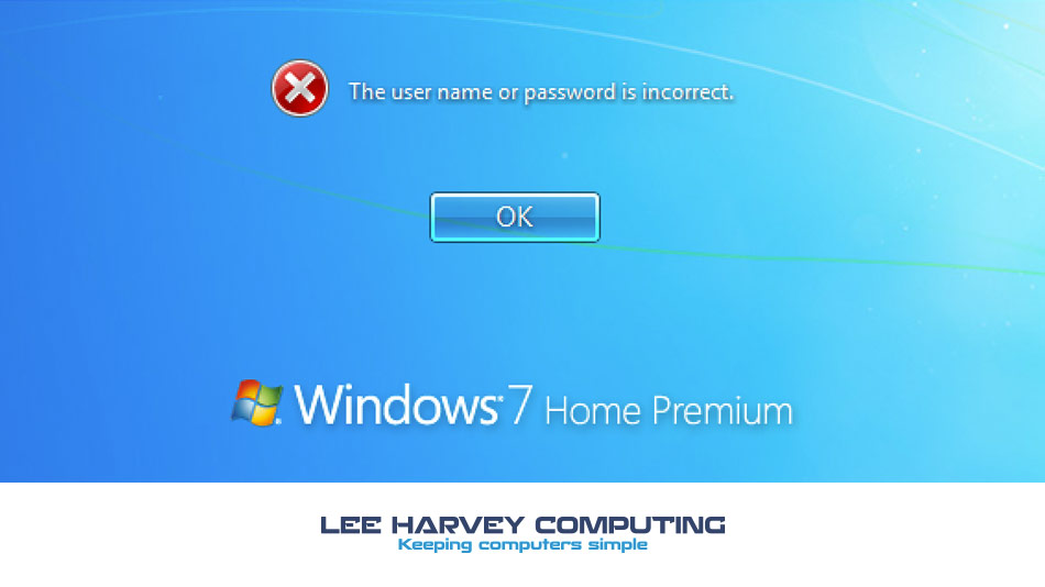 How to reset your windows password